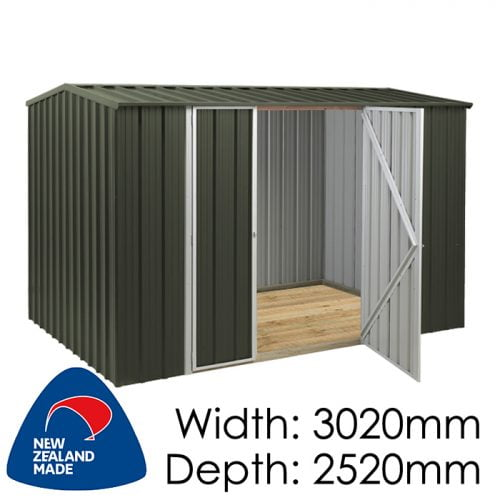 SmartStore Gable SM3025 3020x2520 Karaka Shed available at Gubba Garden Shed