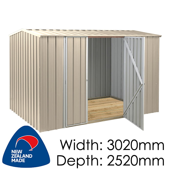SmartStore Gable SM3025 3020x2520 Lichen Shed available at Gubba Garden Shed