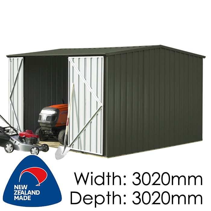 SmartStore Gable SM3030 3020X3020 Karaka Shed available at Gubba Garden Shed