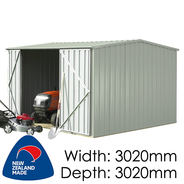 SmartStore Gable SM3030 3020X3020 Mist Green Shed available at Gubba Garden Shed