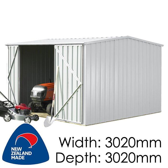 Garden Sheds NZ Smart-Store-SM3030-Zinc-1-700x700