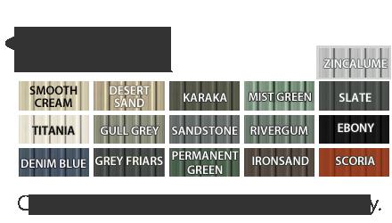 Garden Sheds NZ garden-master-colour-range