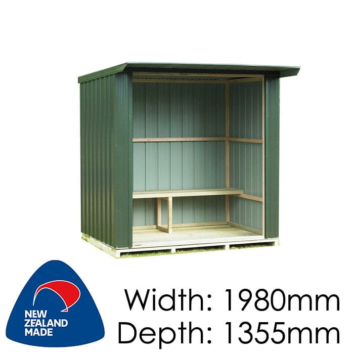 Duratuf Fortress BS 400 1980x1355 Bus Shelter available at Gubba Garden Shed