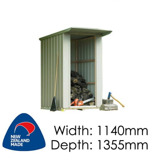 Duratuf Fortress WS 50 1140x1355 Woodshed available at Gubba Garden Shed