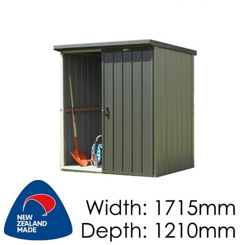 Duratuf Kiwi KL1 1751x1210 Garden Shed available at Gubba Garden Shed