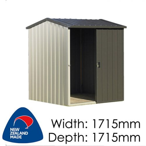 Duratuf Kiwi MK1 1715x1715 Garden Shed available at Gubba Garden Shed