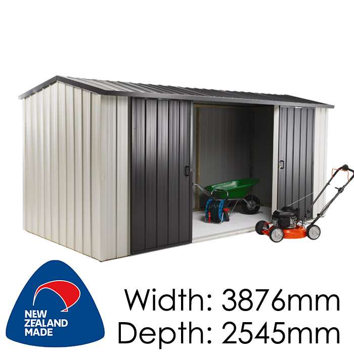 Duratuf Kiwi MK4A10m2 3876x2545 Garden Shed available at Gubba Garden Shed