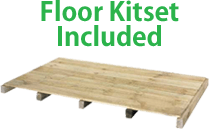 Galvo Floor Kitset Included