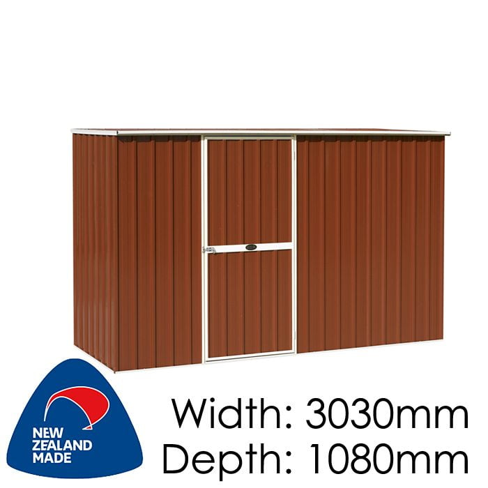 Garden Master GM3011 3030x1080 Garden Shed available at Gubba Garden Shed