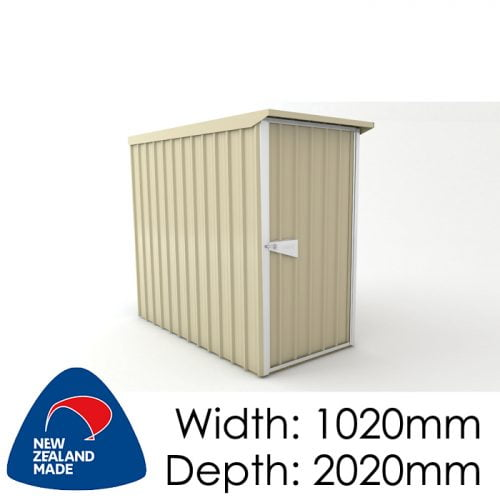 SmartStore Lean-to SM1020 1020x2020 Lichen Shed available at Gubba Garden Shed