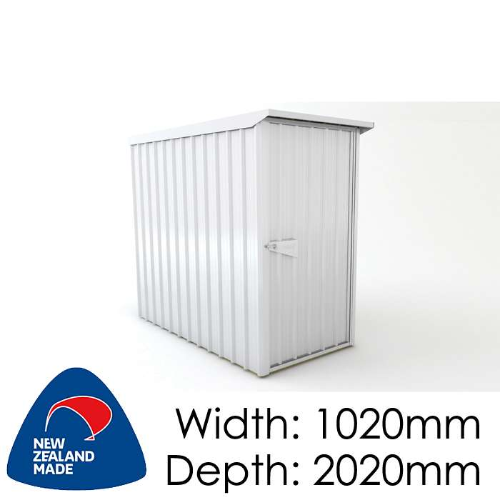 SmartStore Lean-to SM1020 1020x2020 Zincalume Shed available at Gubba Garden Shed