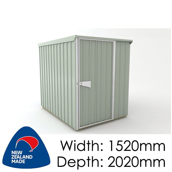 SmartStore Lean-to SM1520 1520x2020 Mist Green Shed available at Gubba Garden Shed