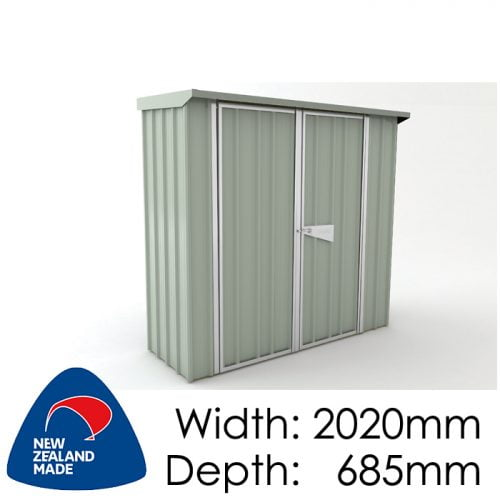 SmartStore Skillion SM2007 2020x685 Mistgreen available at Gubba Garden Shed