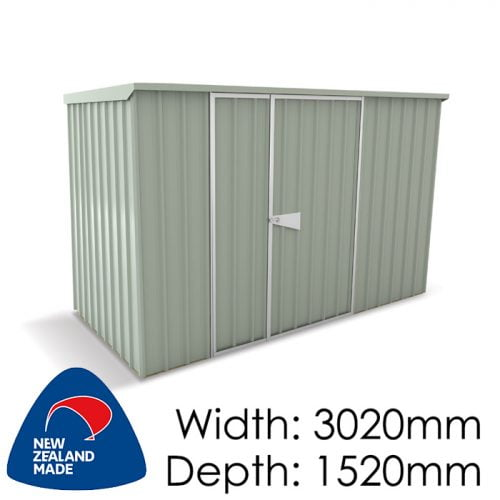 SmartStore Lean-to SM3015 3020x1520 Mist Green Shed available at Gubba Garden Shed