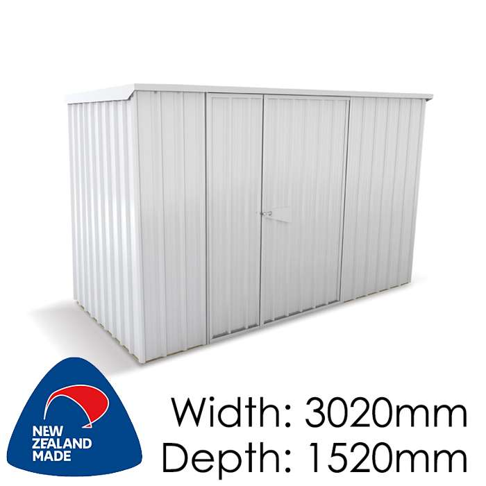 SmartStore Lean-to SM3015 3020x1520 Zincalume Shed available at Gubba Garden Shed