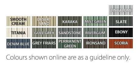 Garden Sheds NZ garden-master-colours