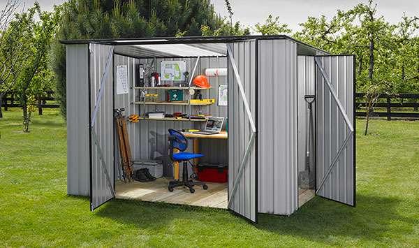 Garden Sheds NZ garden-master-door-customisation