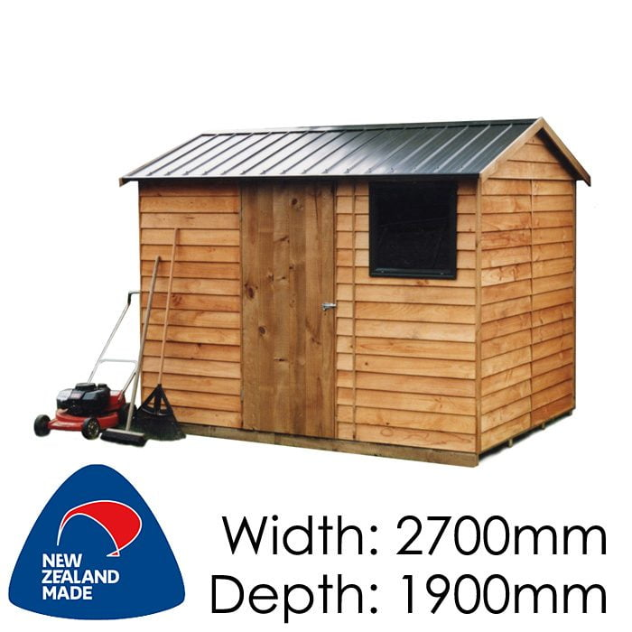 Garden Sheds NZ pinehaven-craigieburn-timber-shed1-700x700