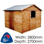 Garden Sheds NZ pinehaven-dunstan-timber-shed-150x150