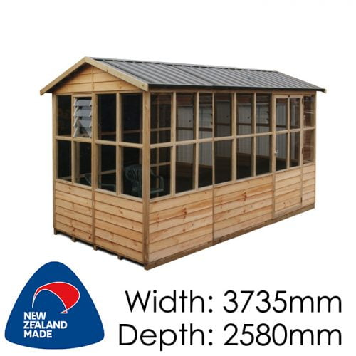Garden Sheds NZ pinehaven-highbury-timber-shed-500x500