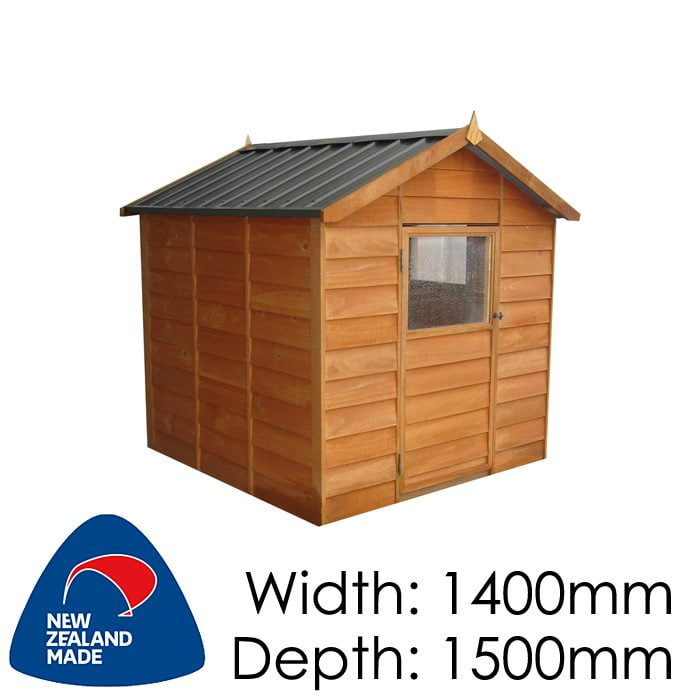 Garden Sheds NZ pinehaven-kk1-kids-timber-playhouse-700x700