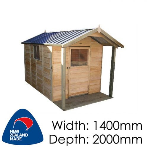 Garden Sheds NZ pinehaven-kk2-kids-timber-playhouse-v-500x500