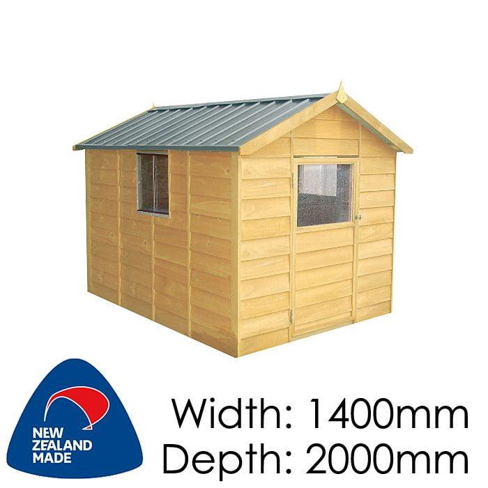 Garden Sheds NZ pinehaven-kk2-kids-timber-playhouse1-700x700