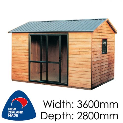 Garden Sheds NZ pinehaven-lambton-timber-shed-500x500