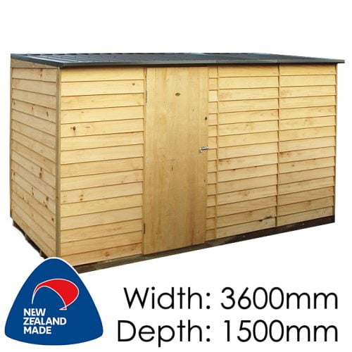 Garden Sheds NZ pinehaven-lyall-timber-shed-500x500