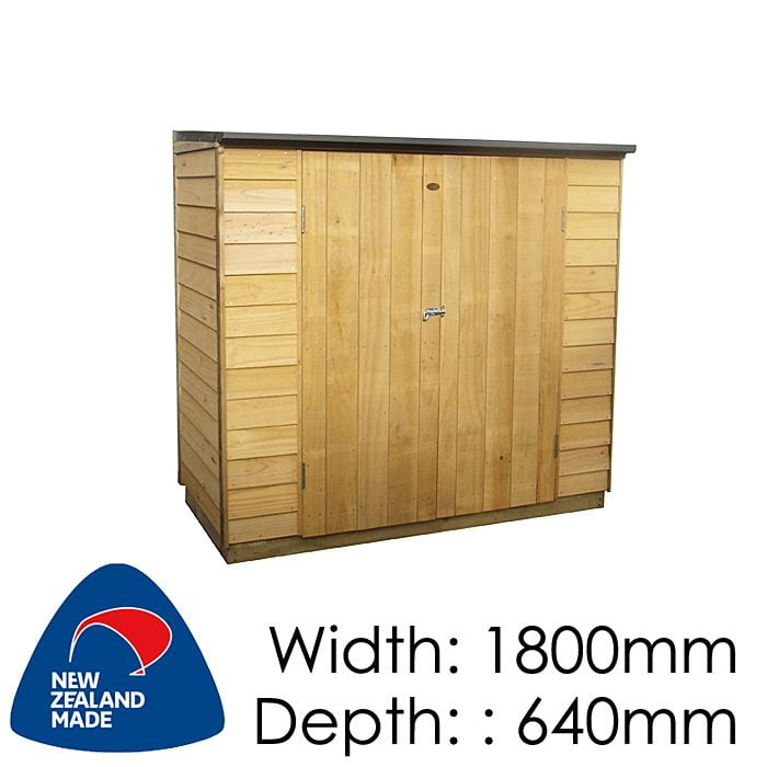 Garden Sheds NZ pinehaven-mana-timber-shed-700x700