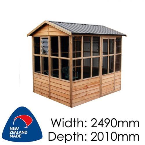 Garden Sheds NZ pinehaven-oakley-timber-shed-1-500x500