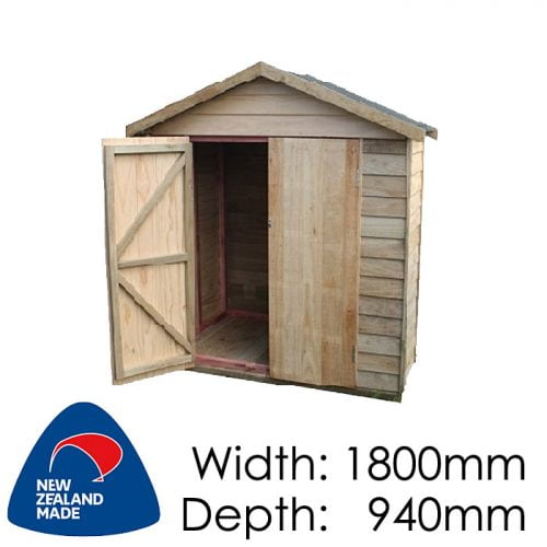Garden Sheds NZ pinehaven-pakatoa-timber-shed-500x500