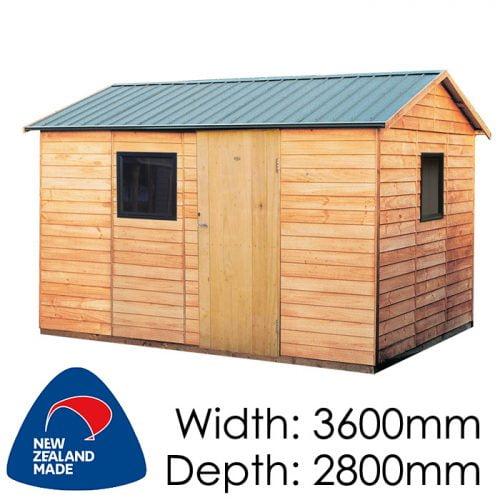 Garden Sheds NZ pinehaven-richardson-timber-shed-500x500