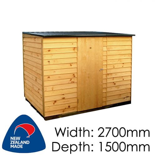 Garden Sheds NZ pinehaven-richmond-timber-shed-500x500