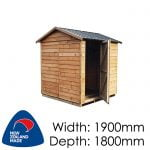 Garden Sheds NZ pinehaven-st-arnaud-timber-shed-150x150