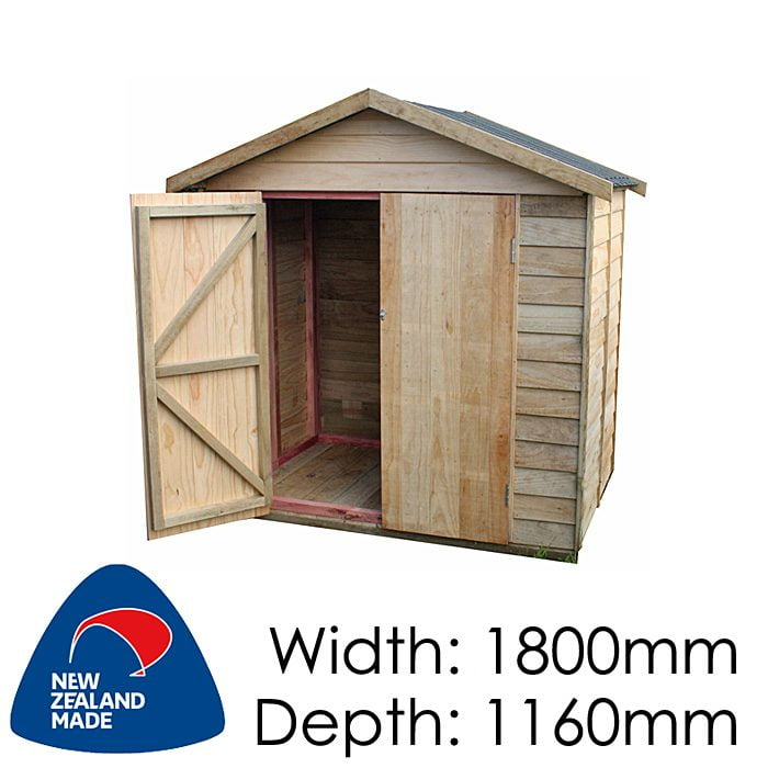 Garden Sheds NZ pinehaven-waiheke-timber-shed-700x700