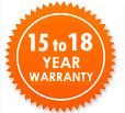Garden Sheds NZ 15-18-Year-Warranty
