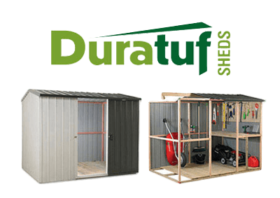 Garden Sheds NZ Duratuf-Shed-Brand