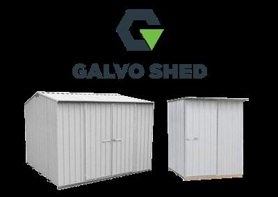 Garden Sheds NZ Galvo-Shed-Brand