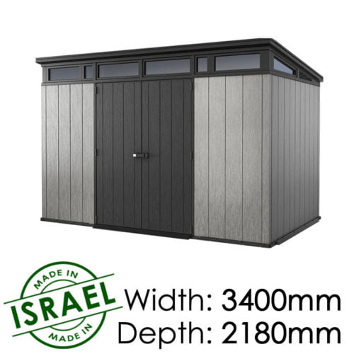 Keter Artisan 11×7 Outdoor Storage Shed available at Gubba Garden Shed