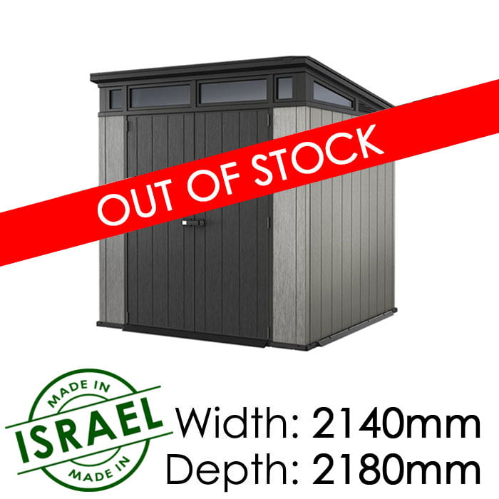 Keter Artisan 7×7 Outdoor Storage Shed available at Gubba Garden Shed
