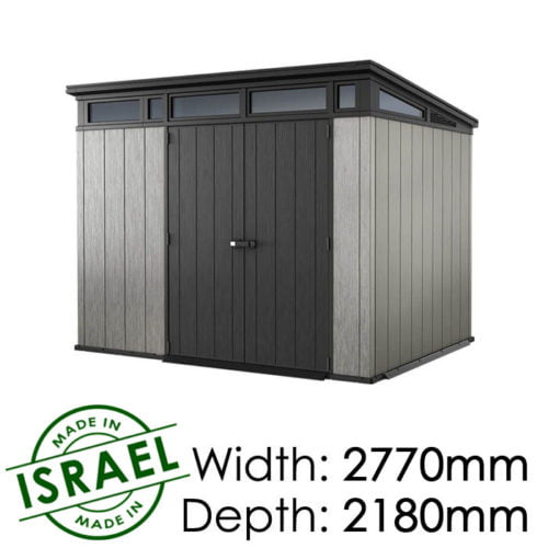 Keter Artisan 9×7 Outdoor Storage Shed available at Gubba Garden Shed