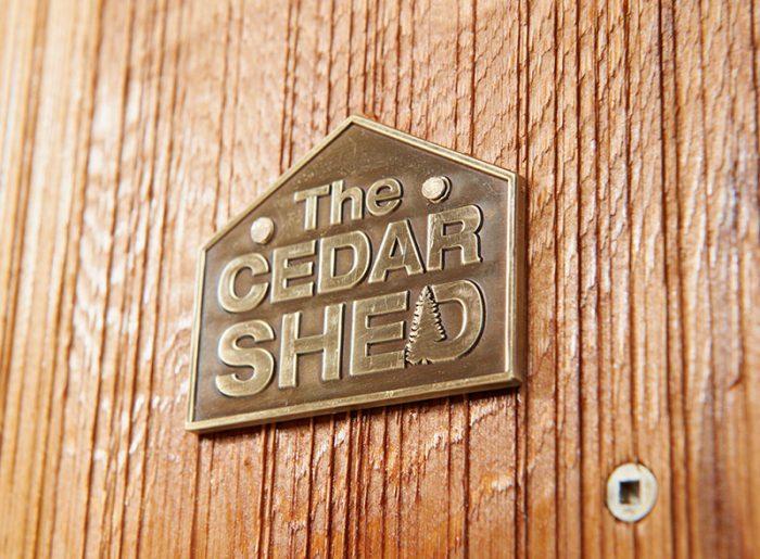 Cedar Ferndale Timber Garden Shed