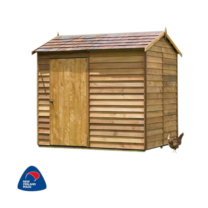 Cedar 2400x1890 Millbrook Timber Garden Shed available at Gubba Garden Shed