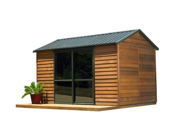 Cedar Urban Timber Garden Shed