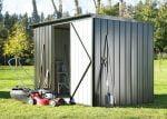 Garden Sheds NZ Duratuf-Fortress-Tuf800-Single-Hinged-Door-150x107