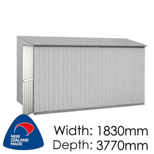Garden Master GM3818SE 3770x1830 Garden Shed available at Gubba Garden Shed