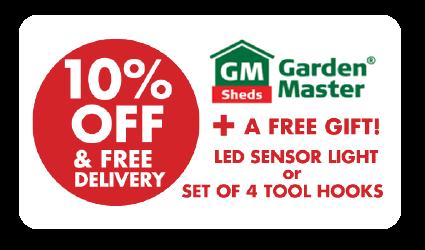 Garden Master GM3838 Garden Shed