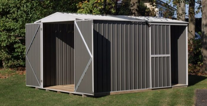 Garden Master Shed Hinged or Sliding Door