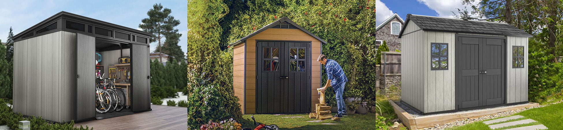 Keter Newton 757 Outdoor Storage Shed